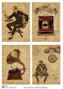 Men & Vintage 30 гр/м2